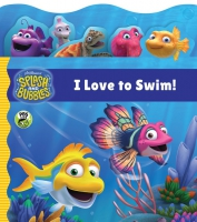 Jacket Image For: Splash and Bubbles: I Love to Swim! tabbed board book
