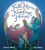 Jacket Image For: The Full Moon at the Napping House (padded board book)