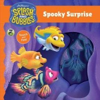 Jacket Image For: Splash and Bubbles: Spooky Surprise touch and feel board book