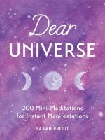 Jacket Image For: Dear Universe