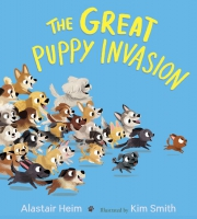 Jacket Image For: The Great Puppy Invasion (padded board book)