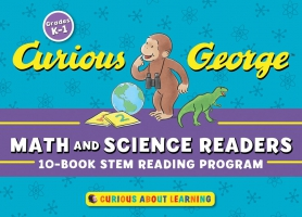 Jacket Image For: Curious George Math and Science Readers