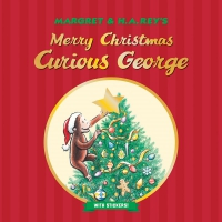 Jacket Image For: Merry Christmas, Curious George (with stickers)