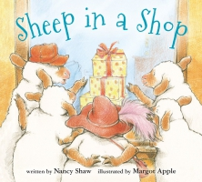 Jacket Image For: Sheep in a Shop (board book)