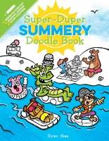 Jacket Image For: Super-Duper Summery Doodle Book