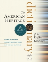 Jacket Image For: The American Heritage Dictionary of the English Language, Fifth Edition