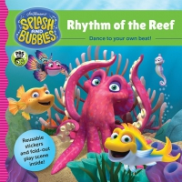 Jacket Image For: Splash and Bubbles: Rhythm of the Reef with sticker play scene