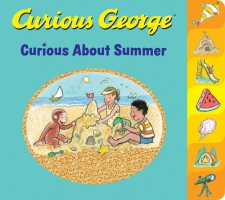 Jacket Image For: Curious George Curious About Summer (tabbed board book)
