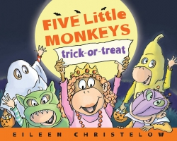Jacket Image For: Five Little Monkeys Trick-or-Treat