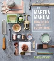 Jacket Image For: The Martha Manual