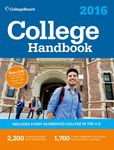 Jacket Image For: College Handbook 2016