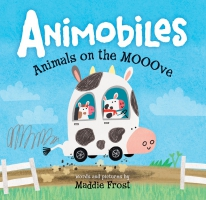 Jacket Image For: Animobiles: Animals on the Mooove