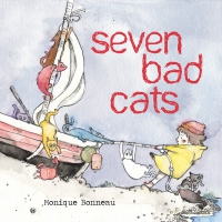 Jacket Image For: Seven Bad Cats