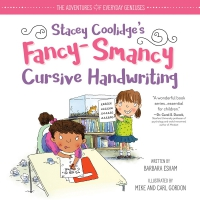 Jacket Image For: Stacey Coolidge Fancy-Smancy Cursive Handwriting