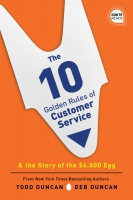 Jacket Image For: The 10 Golden Rules of Customer Service