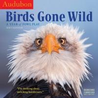 Jacket Image For: Audubon Birds Gone Wild Wall Calendar 2018