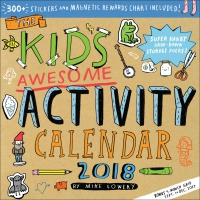 Jacket Image For: The Kid's Awesome Activity Wall Calendar 2018
