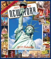 Jacket Image For: 365 Days in New York Picture-A-Day Wall Calendar 2018