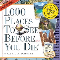 Jacket Image For: 1,000 Places to See Before You Die Page-A-Day Calendar 2018