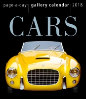 Jacket Image For: Cars Page-A-Day Gallery Calendar 2018
