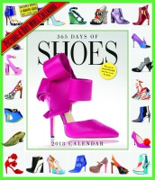 Jacket Image For: 365 Days of Shoes Picture-A-Day Wall Calendar 2018