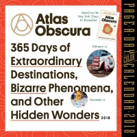 Jacket Image For: Atlas Obscura Page-A-Day Calendar 2018