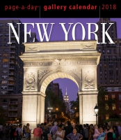 Jacket Image For: New York Page-A-Day Gallery Calendar 2018
