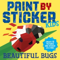 Jacket Image For: Paint by Sticker Kids: Beautiful Bugs