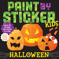 Jacket Image For: Paint by Sticker Kids: Halloween
