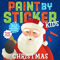 Jacket Image For: Paint by Sticker Kids: Christmas