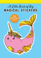 Jacket Image For: A Little Book of Big Stickers: 20 Huge Magical Stickers