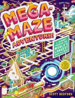 Jacket Image For: Mega-Maze Adventure!