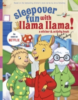 Jacket Image For: Sleepover Fun with Llama Llama: A Sticker & Activity Book