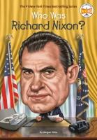 Jacket Image For: Who Was Richard Nixon?