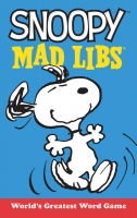Jacket Image For: Snoopy Mad Libs