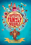 Jacket Image For: The Fantastic Family Whipple