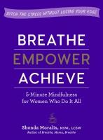 Jacket Image For: Breathe, Empower, Achieve