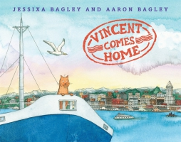 Jacket Image For: Vincent Comes Home