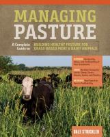 Jacket Image For: Managing Pasture