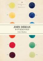 Jacket Image For: John Derian Paper Goods: Color Studies Notebooks