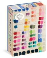 Jacket Image For: John Derian Paper Goods: Painter's Palette 1,000-Piece Puzzle