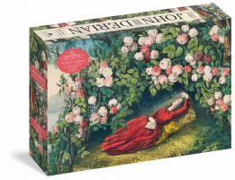Jacket Image For: John Derian Paper Goods: The Bower of Roses 1,000-Piece Puzzle