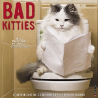 Jacket Image For: Bad Kitties 2018 Wall Calendar