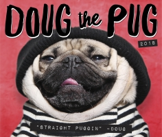 Jacket Image For: Doug the Pug 2018 Boxed Calendar