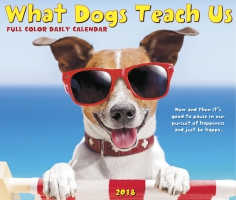 Jacket Image For: What Dogs Teach Us 2018 Boxed Calendar