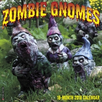 Jacket Image For: Zombie Gnomes 2018 Wall Calendar