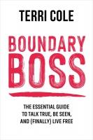 Jacket image for Boundary Boss
