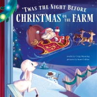 Jacket Image For: 'Twas the Night Before Christmas on the Farm