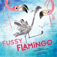 Jacket Image For: Fussy Flamingo