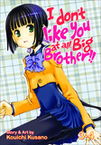 Jacket Image For: I Don't Like You at All, Big Brother!! v.3-4